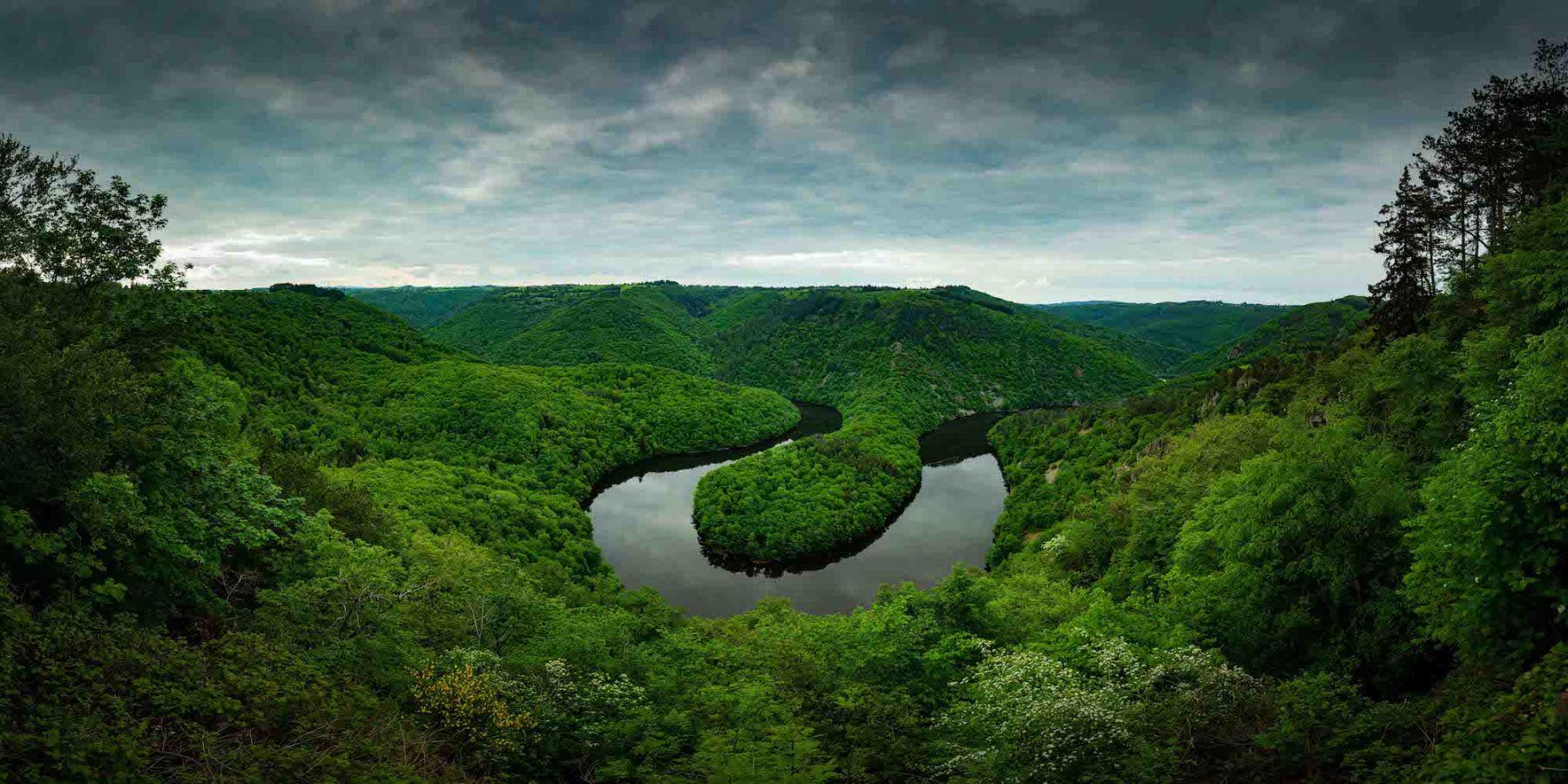 Meandre de Queuille - Auvergne - Bougnat Photos